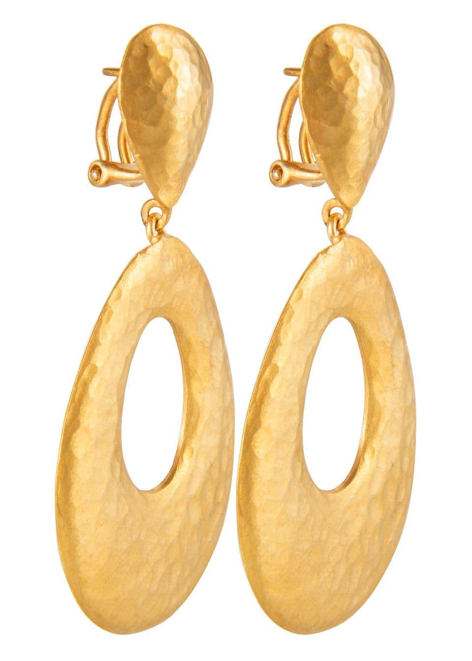 1a5817c55a8 Yossi Harari | 24k gold chandelier Roxeanne earrings|E2X002